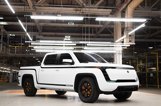 Shown here is The Endurance, an all-electric pickup truck under development by Lordstown Motors Corp. (Photo provided)
