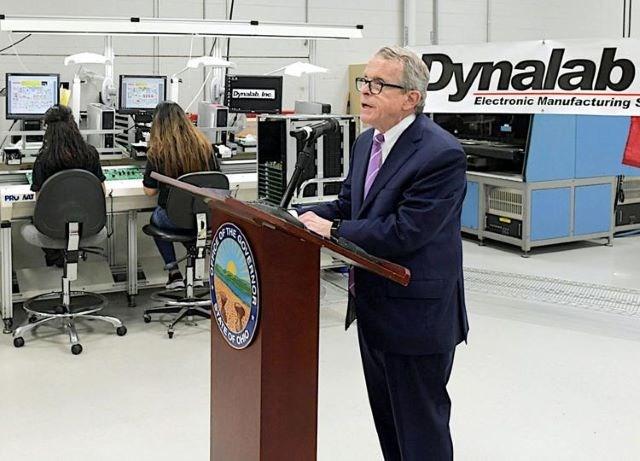 Mike DeWine manufacturing