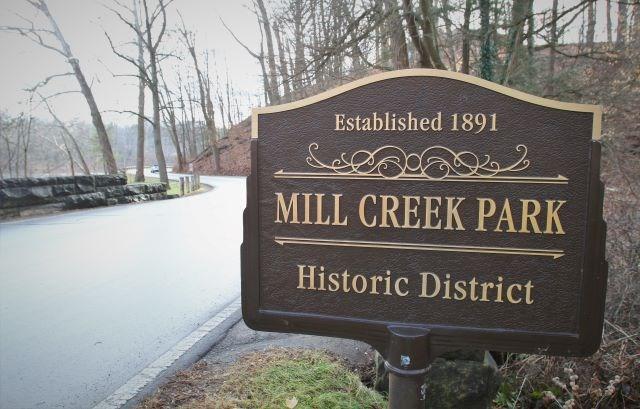 Mill Creek Park sign 01152020