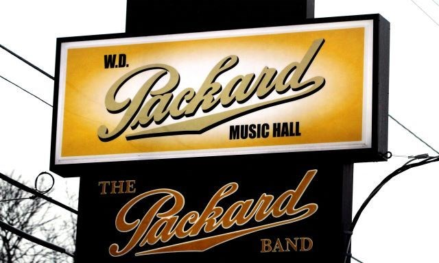 Packard Music Hall sign 01082020