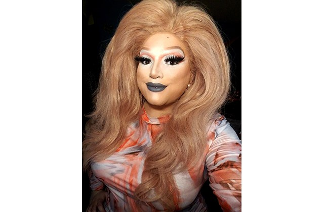 Warren-area drag queen Peaches En'Cream submitted a video for Full Spectrum's virtual Pride. (Photo provided)