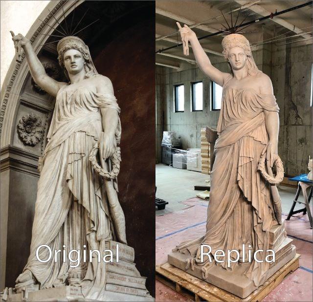 Replica statue 10282019
