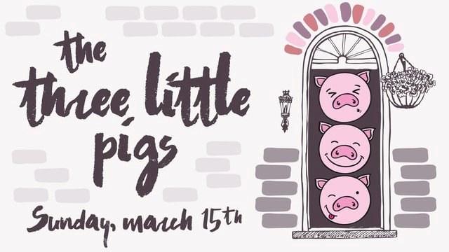 Three Little Pigs 02172020