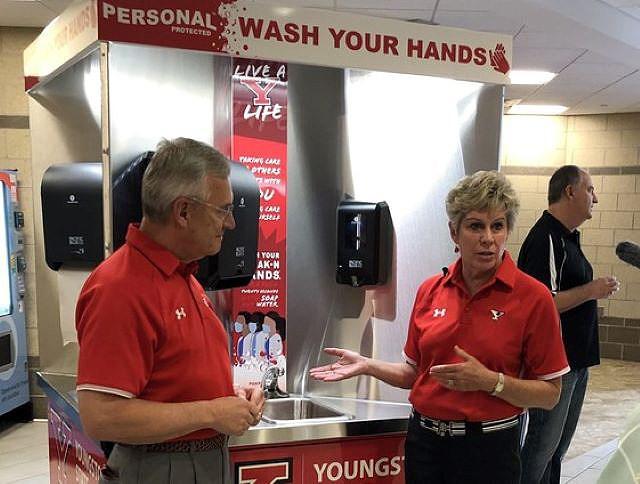 YSU hand washing