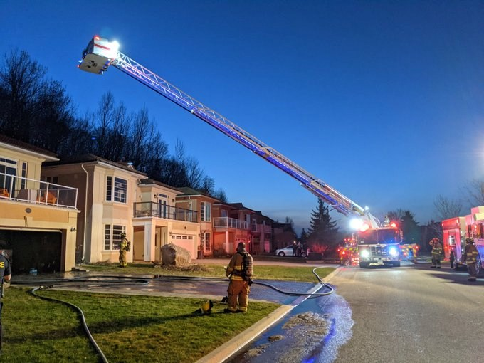 Midland firefighters were called to Aberdeen Blvd. Wednesday evening for their second fire in as many days. The garage fire was quickly put out, but not before causing an estimated $150,000 to $200,000 in damage. There were no injuries.