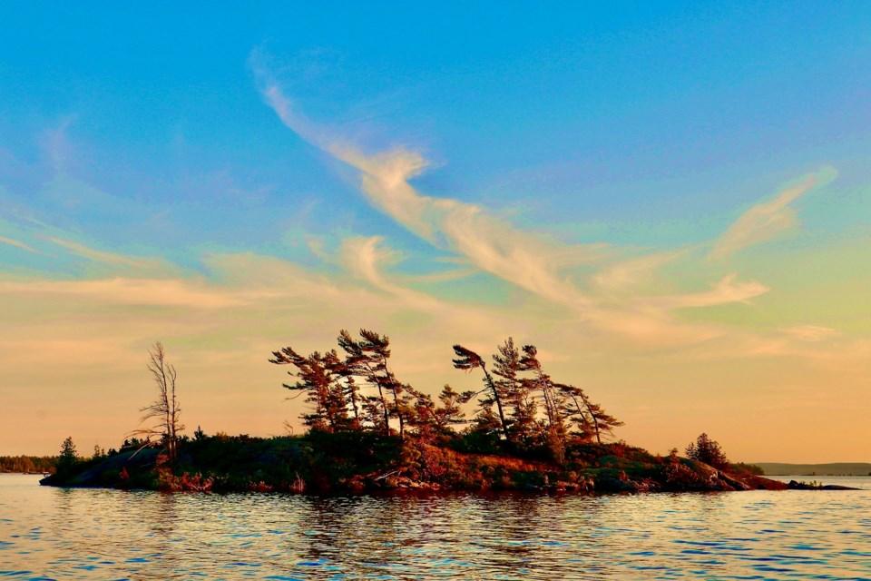 Cognashene Island. Dave Zwicker,   Copyright.
