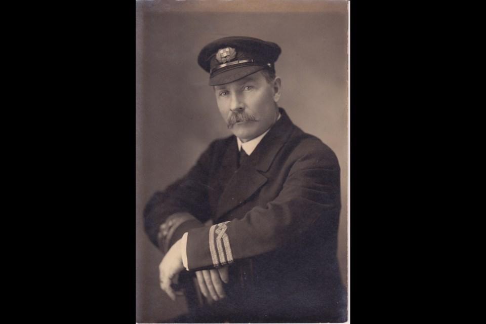 Captain James McCannell. Photo courtesy René Hackstetter.