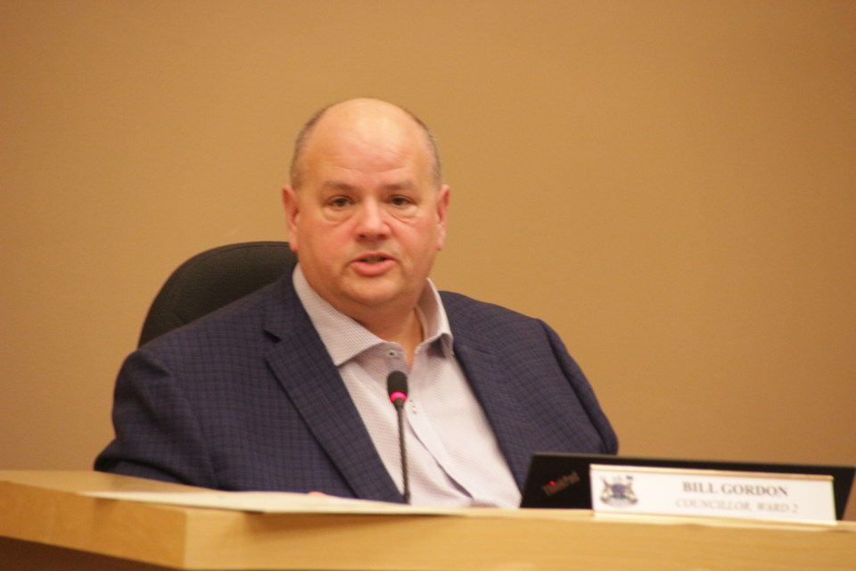 Councillor Bill Gordon wants the town to make public the settlement he says he signed with them. File photo.
