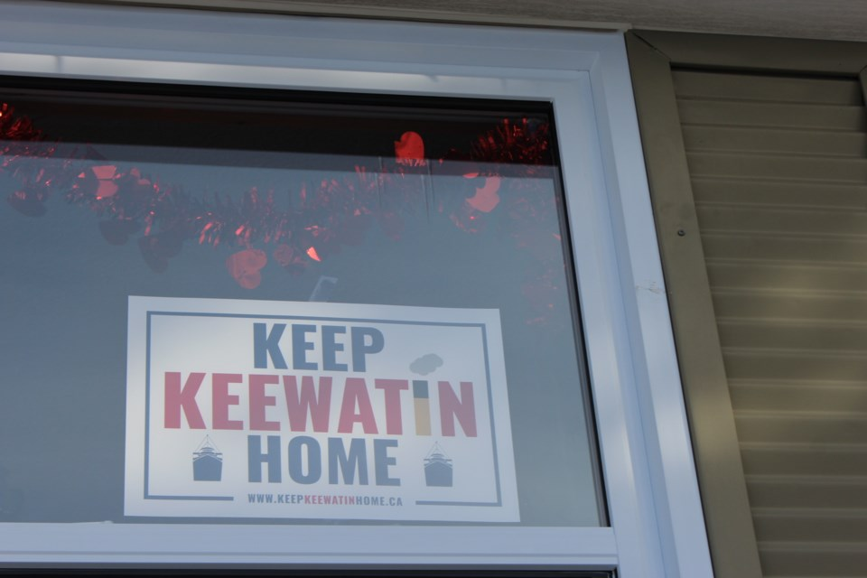 Many local residents are now displaying this sign in their windows.