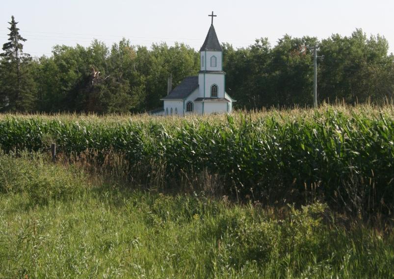 church in field ron photo