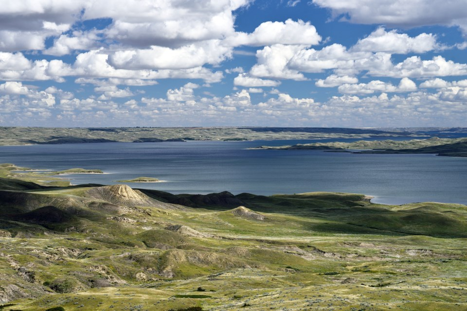 Lake Diefenbaker. (Getty Images)