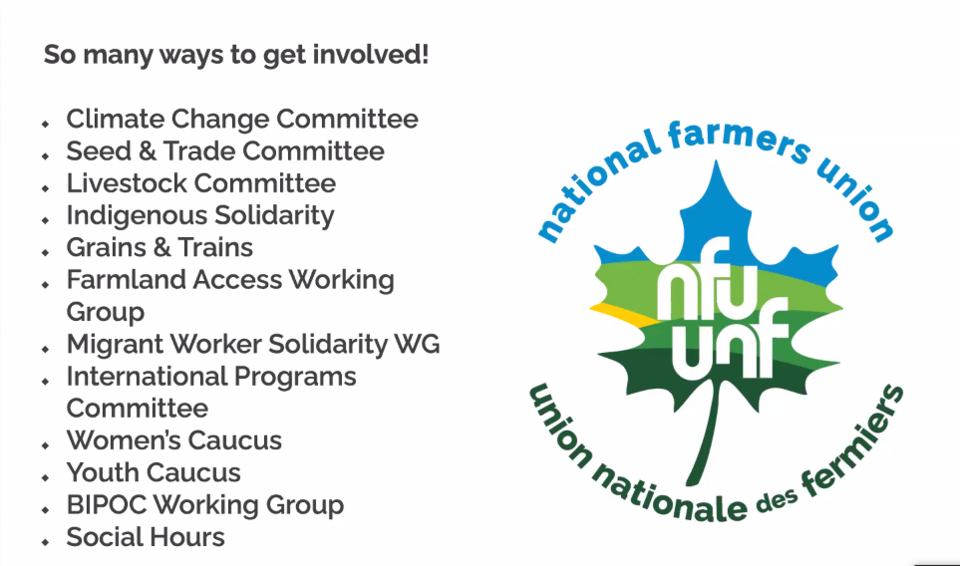 NFU conference 2021