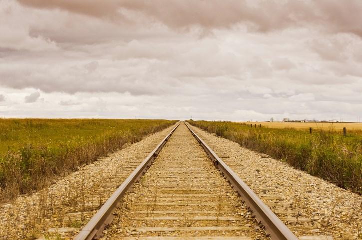 railway tracks in saskatchewan getty images