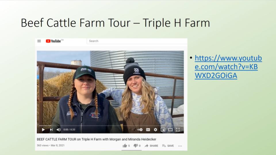 virtual ag classroom visit