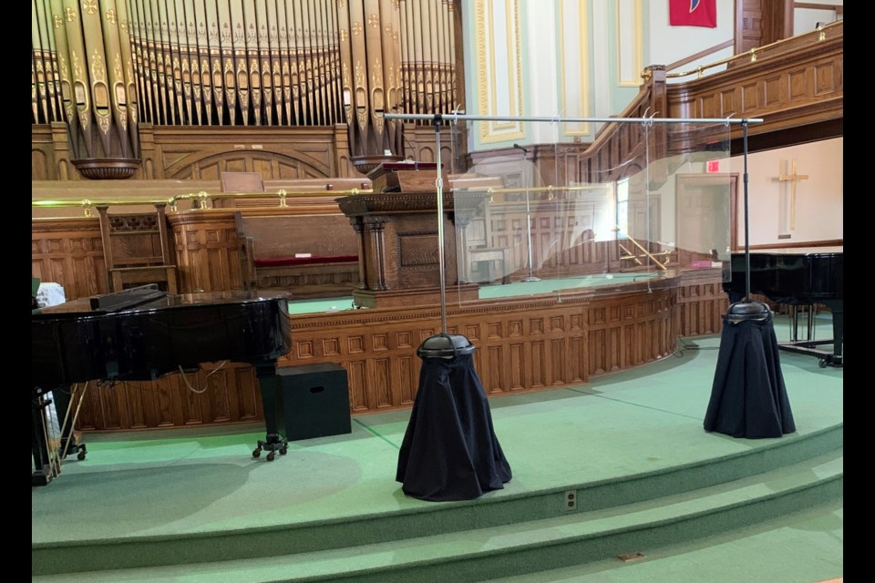 The 2021 Moose Jaw Music Festival took place last week in Zion United Church, with numerous safety protocols in place to allow for live performance.