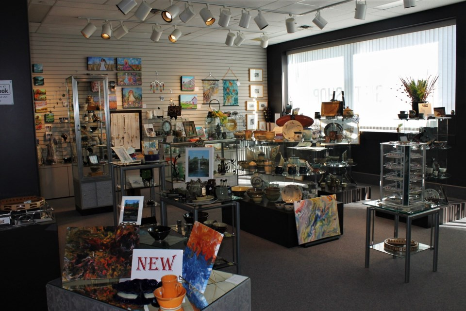 The MJMAG's Gift Shop is an impressive collection that shows off just how wide the range of art in Moose Jaw truly is.