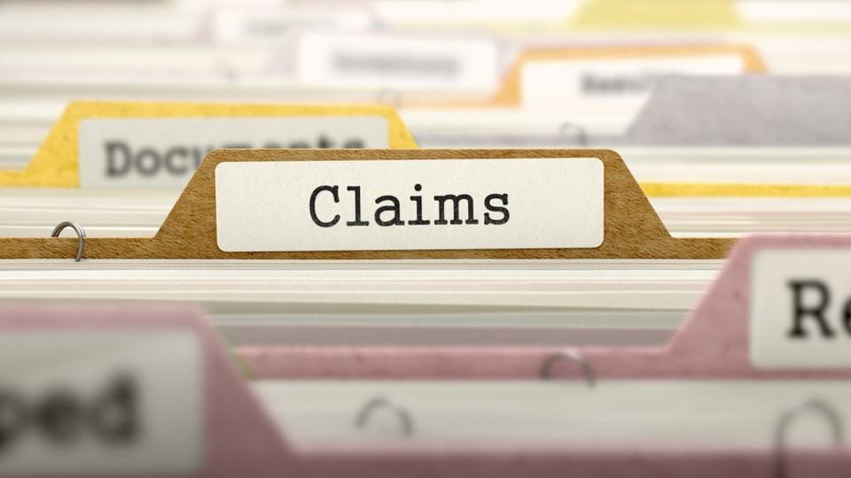 creditor claims file folder shutterstock