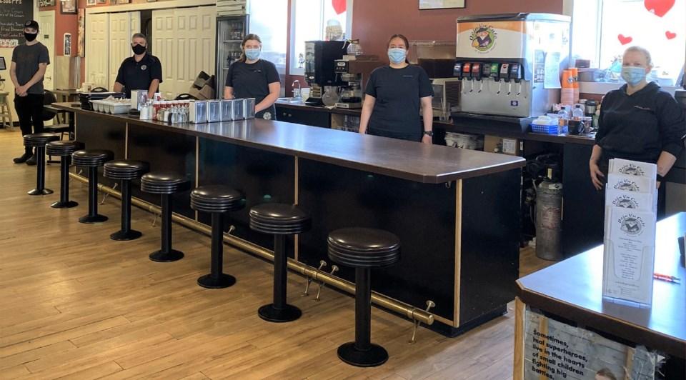 Deja Vu Cafe staff