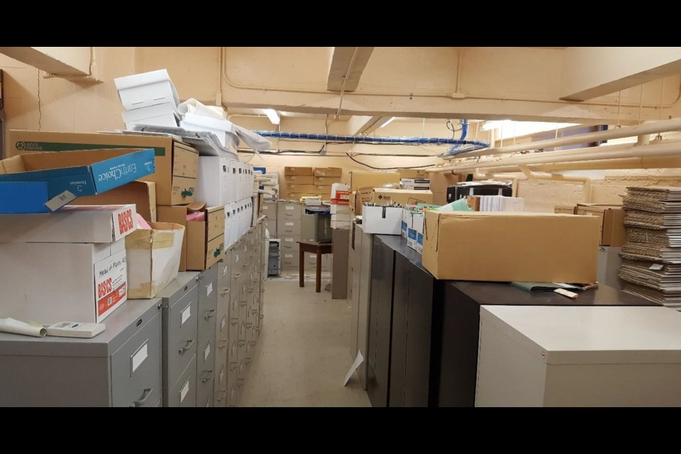 City hall had an archaic archiving system that had grown over eight decades and wasn't as modern as the city clerk's office wanted. Photo courtesy City of Moose Jaw