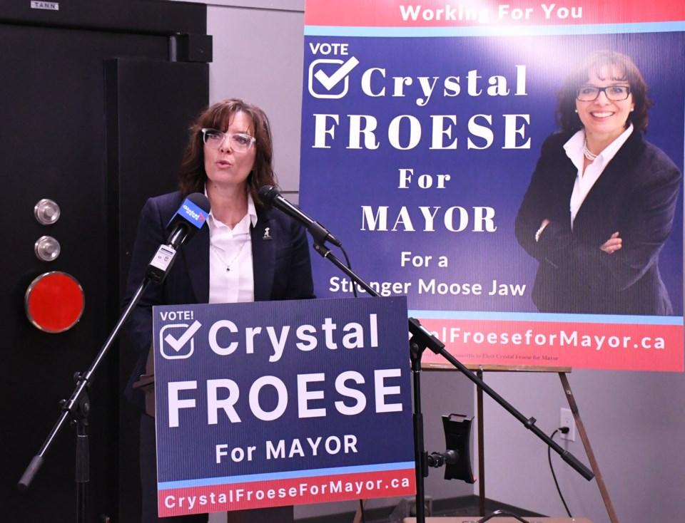 Froese mayor run