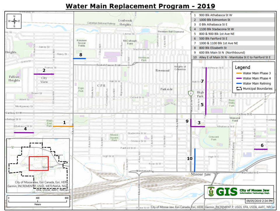 watermain phase four