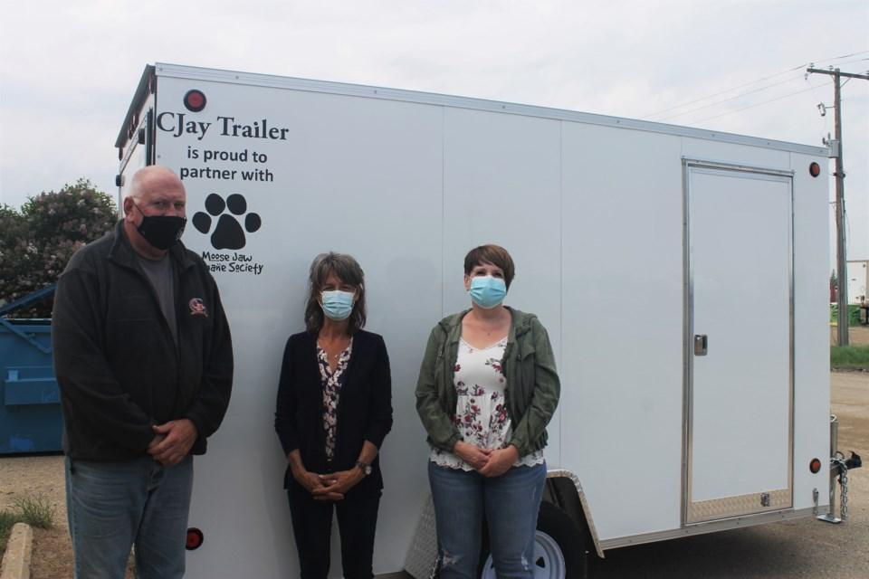 humane society trailer donation