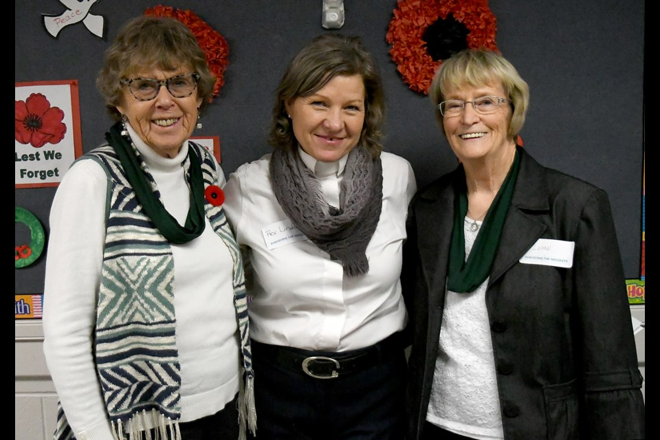 Carole Parchman, Rev. Linda Tomlinson-Seebach and Leone Townend were organizers and facilitators for the GriefShare seminar this past Saturday.