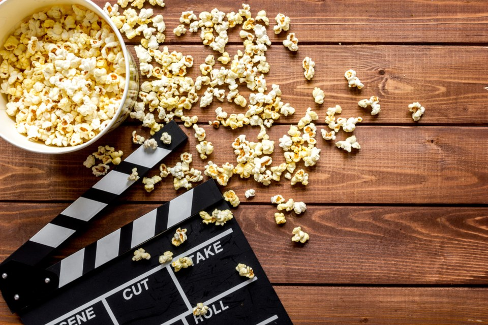 film and popcorn shutterstock