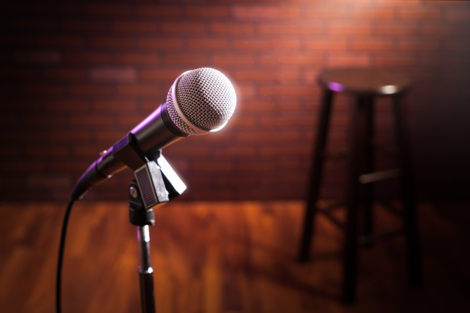 stand up comedy stock