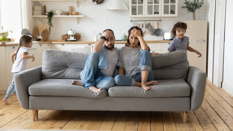 stressed parents getty images