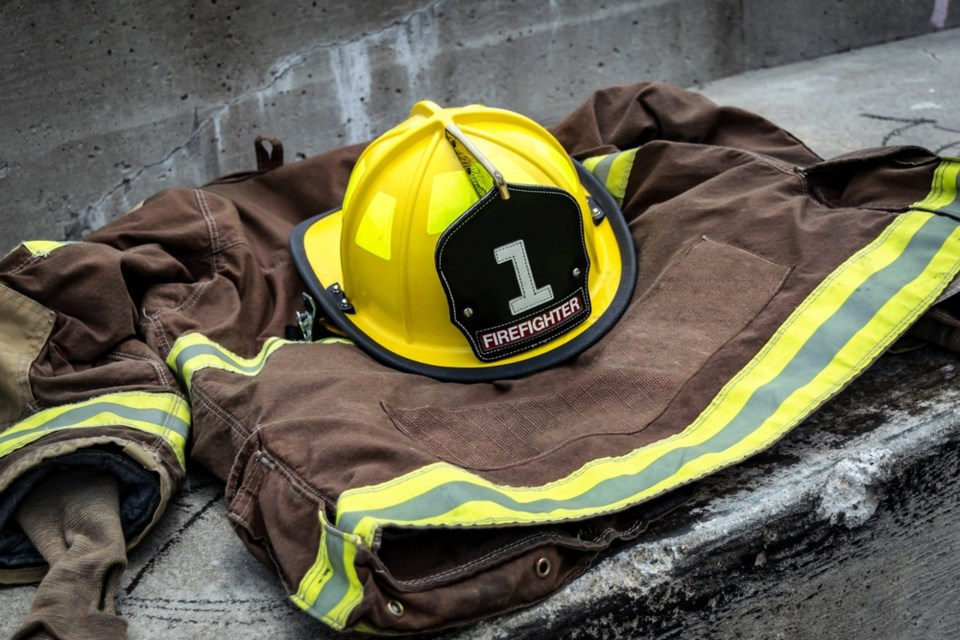 firefighter gear shutterstock