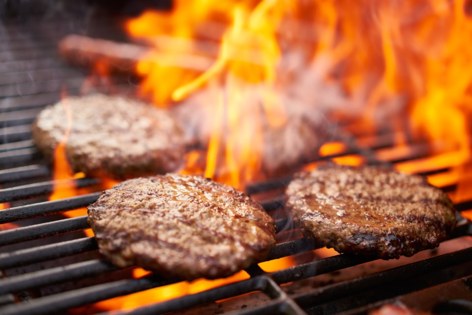bbq burgers and hot dogs shutterstock