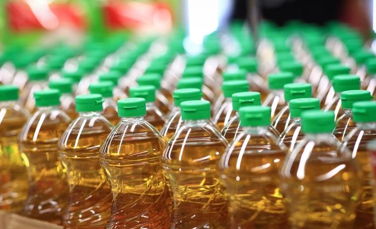 canola oil bottles getty images