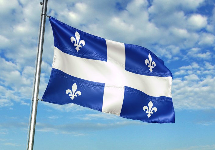 flag of quebec getty images
