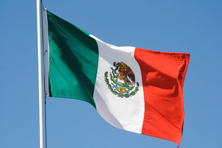 mexican flag flying getty images