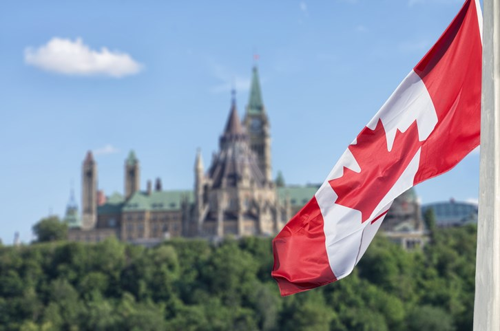 ottawa canada flag getty images