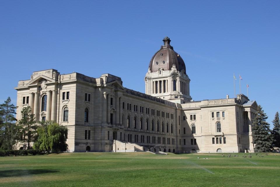 sask legislature full view