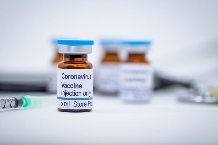 covid vaccine bottle getty images