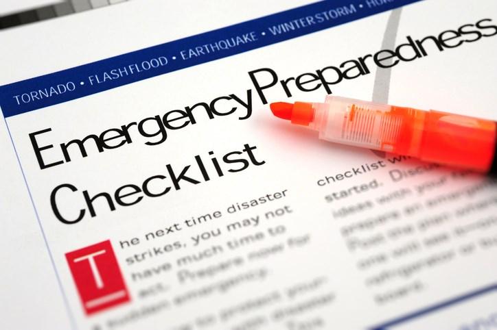 emergency checklist getty images