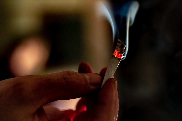 smoking joint getty images