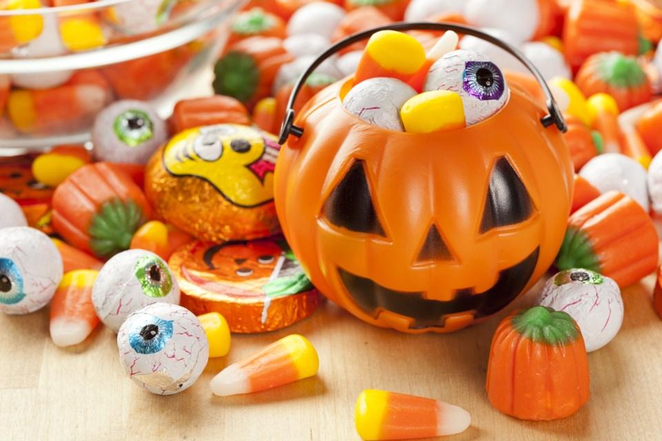 halloween candy shutterstock