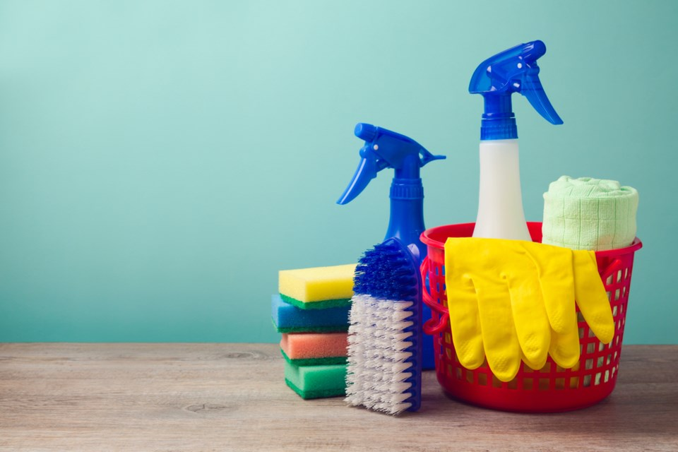 spring cleaning concept shutterstock