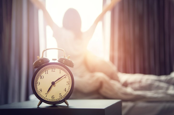 waking up alarm clock getty images