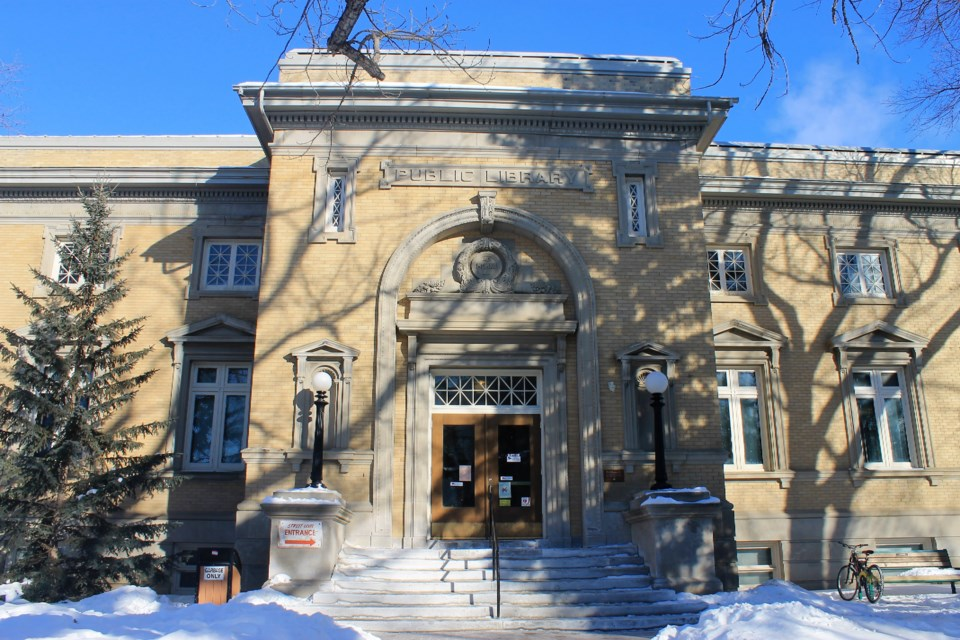 public library winter 3