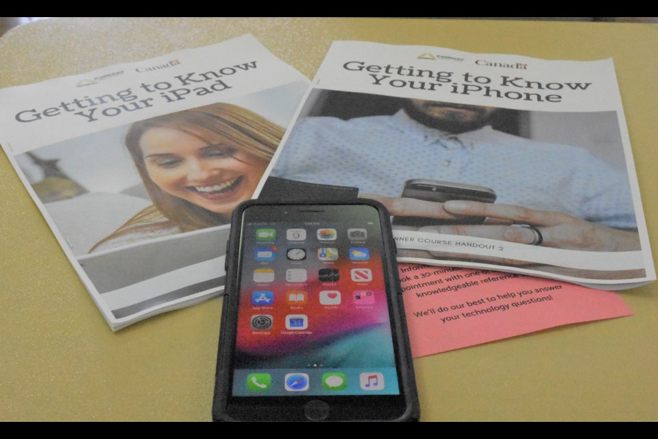 Palliser Regional Library is working with the Moose Jaw Public Library to offer courses on how to use iPhones and iPads to ensure residents have the right digital skills. Photo by Jason G. Antonio