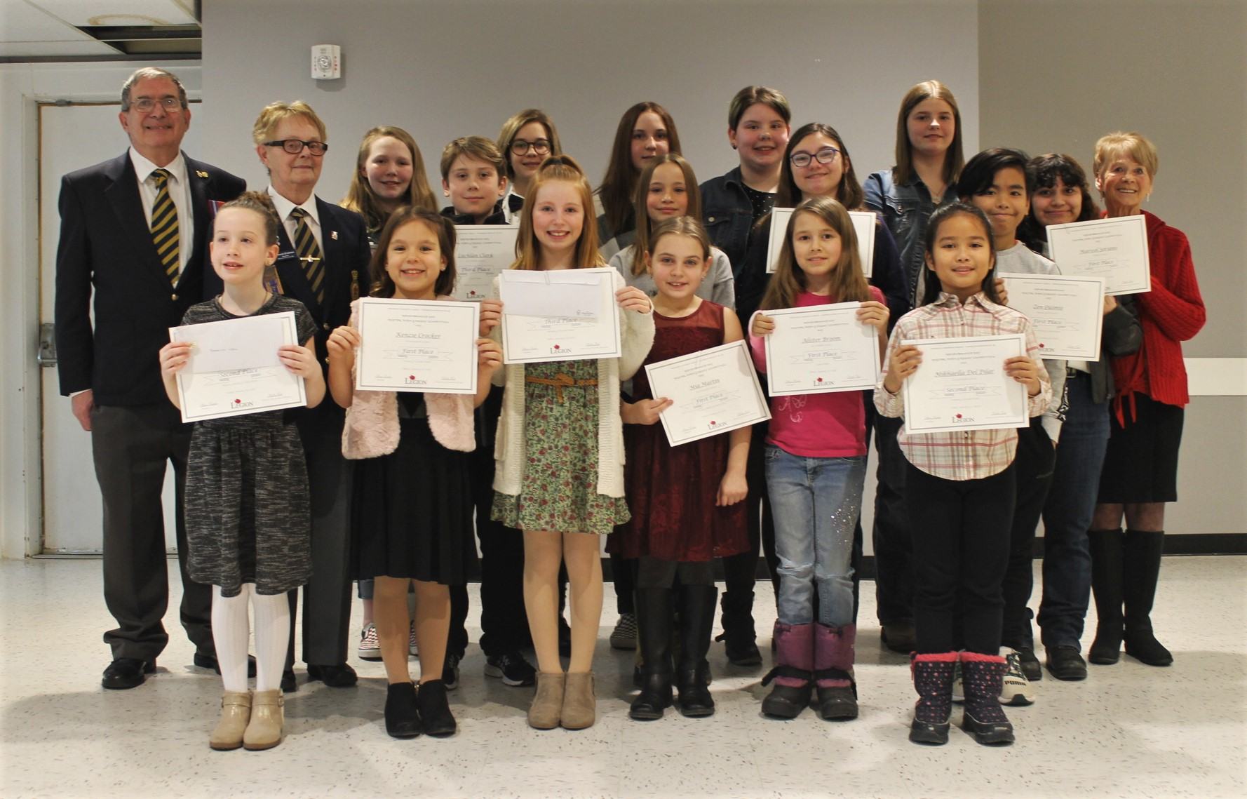Legion hands out annual awards to deserving students