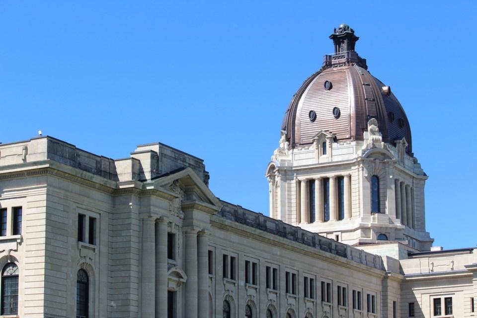 sask legislature stock