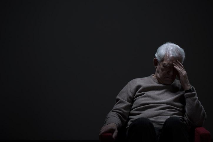 senior mental health getty images
