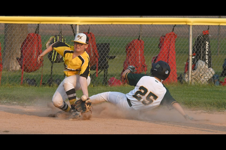 Action from the Little League Major AAA provincial championship between the Moose Jaw Miller Express and North Regina All-Stars.