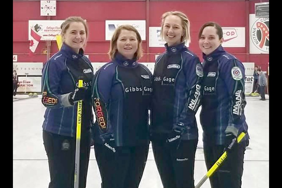 Penny Barker and her rink of third Deanna Doig, second Christie Gamble and lead Danielle Sicinski won their second straight SWCT event over the weekend.
